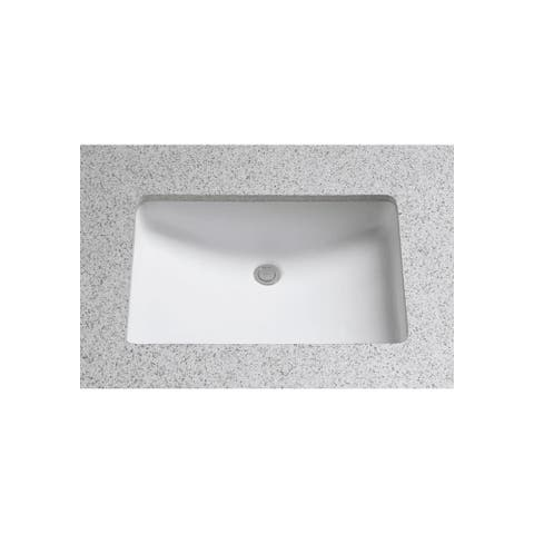 """TOTO LT540G 21-1/4"""" Undermount Bathroom Sink with Overflow and"""