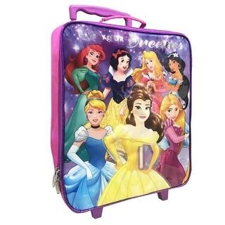 Disney Princess Pilot Case Rolling Luggage