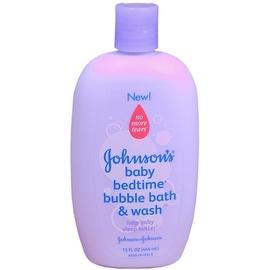 JOHNSON'S Baby Bedtime Bubble Bath & Wash 15 oz