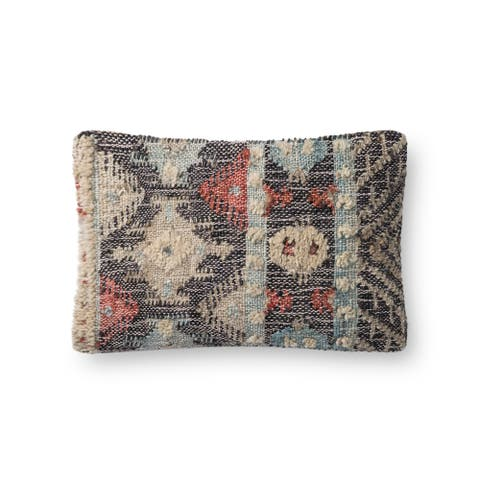 Alexander Home Addison Boho Abstract Rustic Throw Pillow
