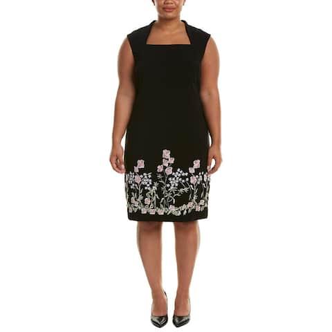 Tahari Asl Plus Shift Dress