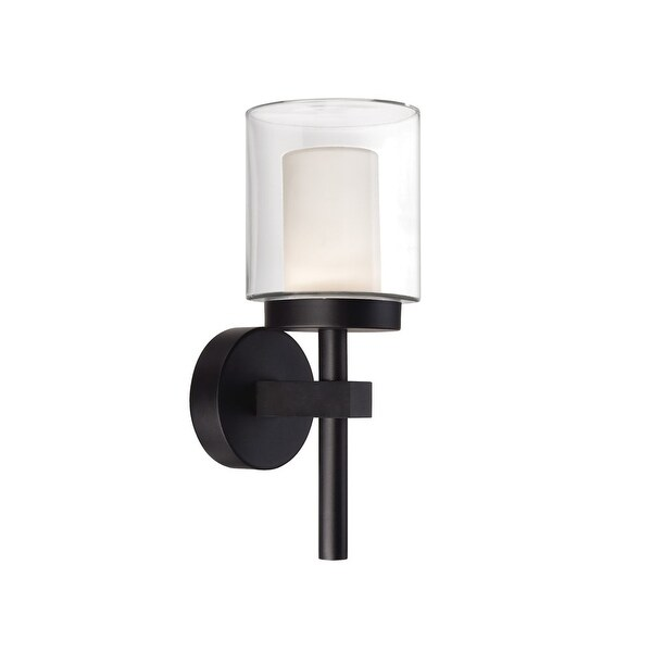 """Modern Forms WS-W1815 Deco 15"""" Indoor/Outdoor Dimmable LED Wall Light"""