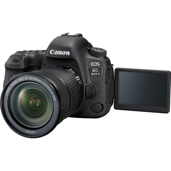 Canon EOS 6D Mark II 26 2 Megapixel Digital SLR Camera with Lens  (Refurbished)