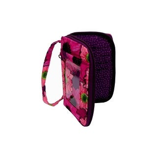 Darice Fashion Bags Fabric Cell Pouch Flrl Pink