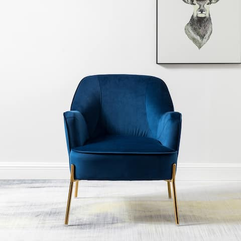 Nora Premium Velvet Upholstered Accent Chair