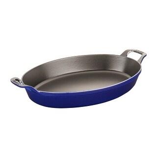 Staub Cast Iron Oval Baking Dish