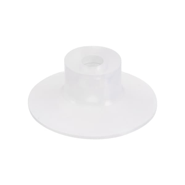 Clear Soft Silicone Miniature Vacuum Suction Cup 30mmx5mm Bellow Suction Cup - M5 x 30mm
