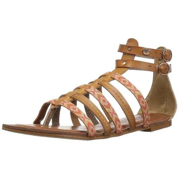 Roxy Women's Emilia Strappy Gladiator Sandal