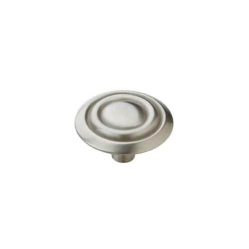 Amerock 875 Allison Value Hardware 1-3/8 Inch Diameter Mushroom Cabinet Knob - satin nickel