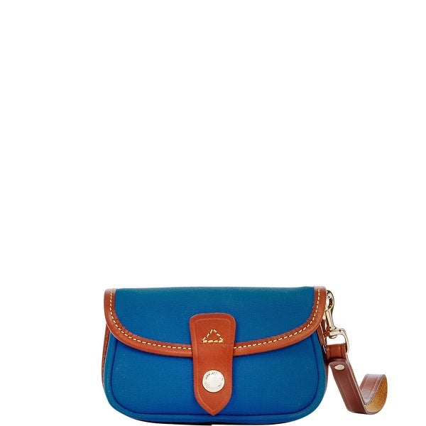 Dooney & Bourke Cabriolet Flap Wristlet (Introduced by Dooney & Bourke at $45 in Feb 2017) - Royal Blue