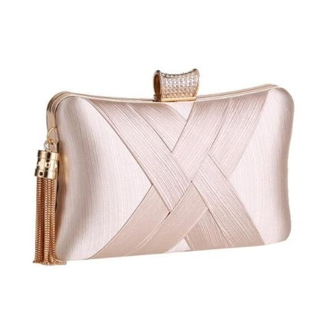 Womens Evening Clutch Bag Wedding Purse Bridal Prom Handbag Party Bag