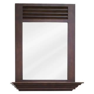 Elements MIR078 Lindley Collection Rectangular 25-1/2 x 30 Inch Bathroom Vanity