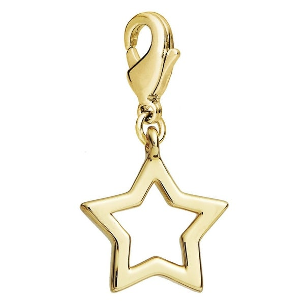Julieta Jewelry Star Outline Clip-On Charm
