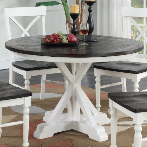 The Gray Barn Crooked Cottage Dark Mocha Dining Table