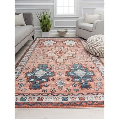 Claire Vintage Transitional Area Rug by Rugs America