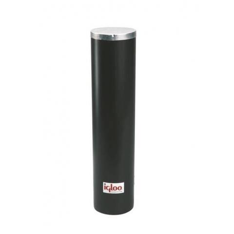"Igloo 00008242 Water Cooler Plastic Cup Dispenser 13.75"" x 10.38"" x 17"", Black"