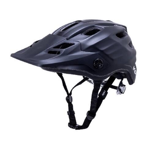 Kali Protectives Bike Helmet Maya 2.0 Revolt (Solid Matte Black, S/M)
