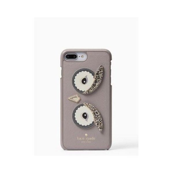 meet 92fdf 8aaa3 Kate Spade New York Owl Applique iPhone 8 Plus/iPhone 7 Plus Snap Case
