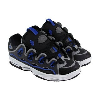 Osiris D3 2001 Mens Black Synthetic Athletic Lace Up Training Shoes