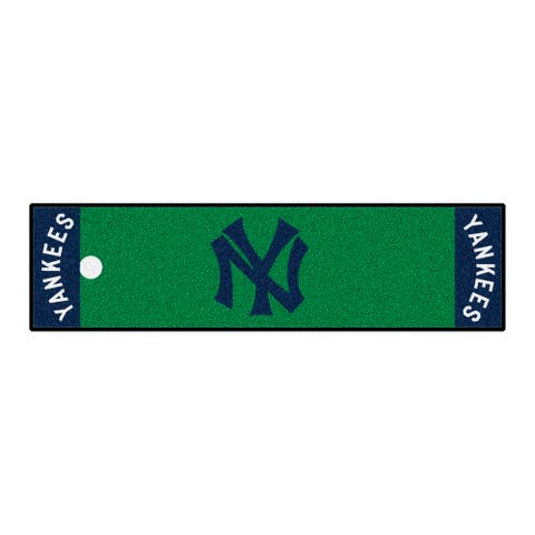 MLB - New York Yankees Retro Collection Putting Green Mat - 1.5ft. x 6ft. - (1927) - 1.5ft. X 6ft.