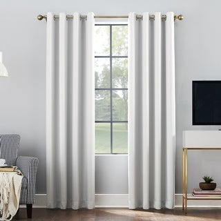 Link to Sun Zero Oslo Theater Grade Extreme Total Blackout Grommet Curtain Panel Similar Items in Blackout Curtains