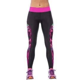 New Women's Owl Print Gym Running Yoga Pants High Rise Stretch Leggings Sweatpants Trousers