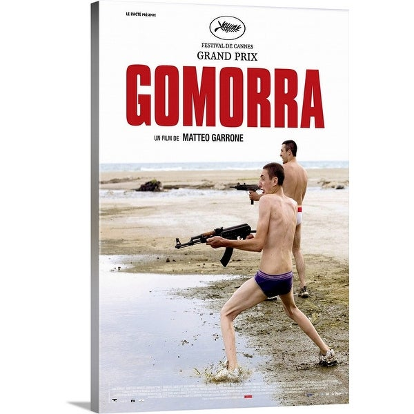 """""""Gomorra - Movie Poster - French"""" Canvas Wall Art"""
