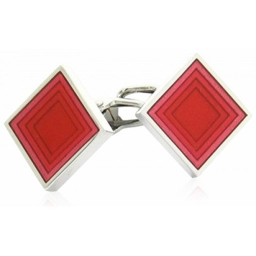 Poker Diamond Cards Suit Cufflinks