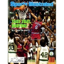 Julius Erving 5/31/82 Signed Sports Illustrated Magazine