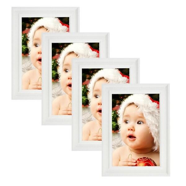 Shop Lambert Frames Barnwood Picture Frame Set 4x6 5x7 4 Pack