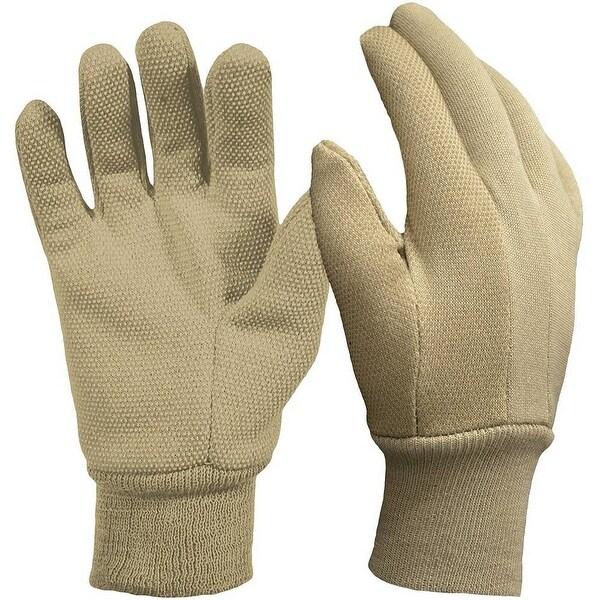 Digz 77257-26 Garden Gloves With Mini Dots, Khaki, Medium