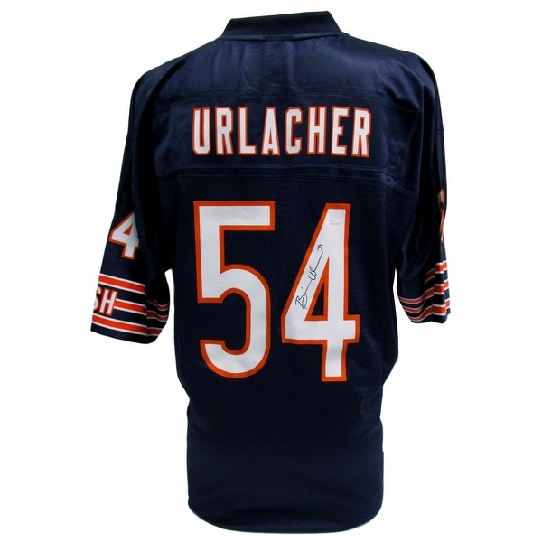 new styles 37c0f 83e31 Shop Brian Urlacher Signed Chicago Bears Vintage NFL Pro ...