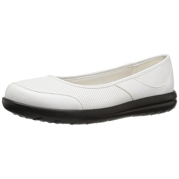 2c44478b1750 Shop CLARKS Womens Jocolin Myla Fabric Closed Toe Slide Flats - Free ...