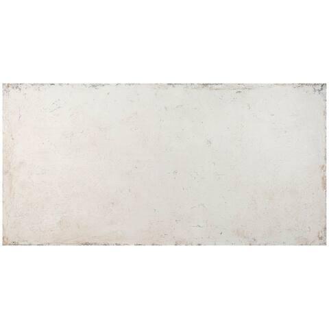 Sassuolo Ceramic Italian Tile in White (4 x 12, 7.6 Sq. Ft.)