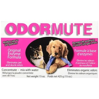 "Hueter Toledo Odormute Powder Odor Eliminator Unscented 15 ounces 7"" x 4"" x 2"""