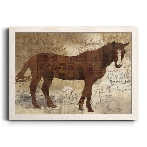 Western Horse I-Premium Framed Canvas - Ready to Hang