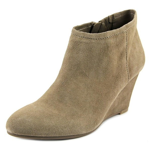 Carlos by Carlos Santana Laurelle Women Round Toe Suede Ankle Boot