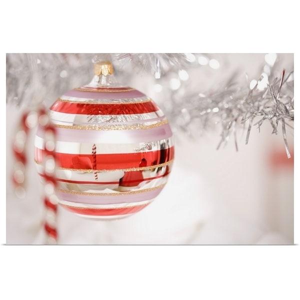 """Christmas ornament"" Poster Print"