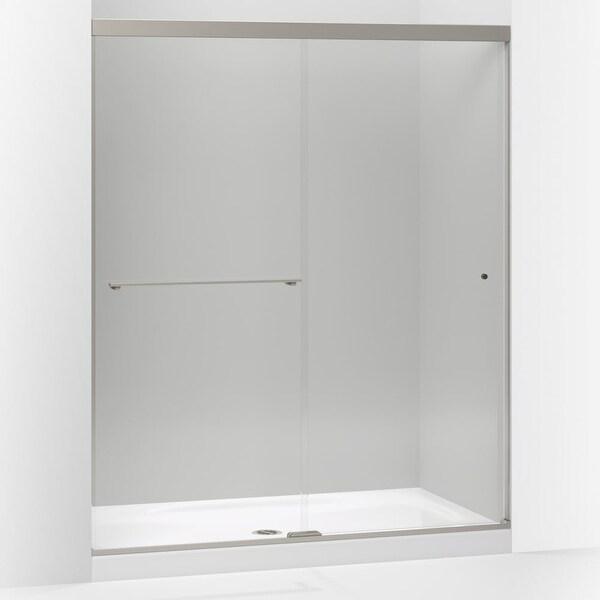 Shop Kohler K 707200 L Revel 70 Frameless Tempered Crystal Clear