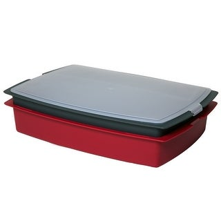 Grillmark 96400 Marinating and serving storage container set, 2-Piece