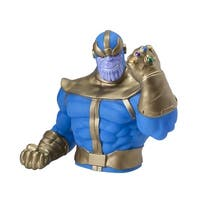 Marvel Comics Thanos with Infinity Gauntlet Plastic Bust Bank - multi
