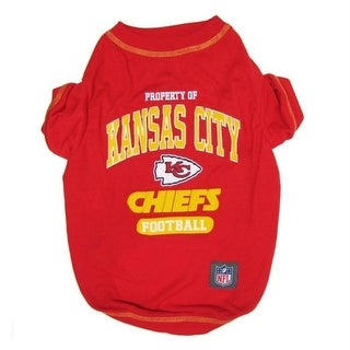 Shop Kansas City Chiefs Pet T Shirt Small Free