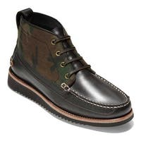 Cole Haan Men's Pinch Rugged Chukka Boot Camo Canvas/After Dark Leather