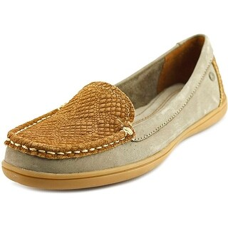 Hush Puppies Ryann Claudine Women N/S Moc Toe Leather Loafer