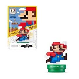 Nintendo Wii/ Wii U Software Amiibo Mario 30th Anniversary 8bit Modern Color Mario Action Figure