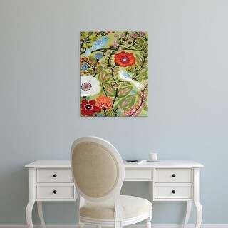 Easy Art Prints Karen Fields's 'Peace Garden' Premium Canvas Art