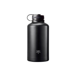 Pure Outdoor Vacuum Sealed 64 fl. oz. Wide-Mouth Growler