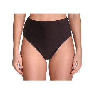 Ibiza Womens Plus Godiva Side Tab Hipster Swim Bottom Separates