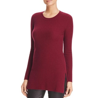 Private Label Womens Tunic Sweater Cashmere Ribbed