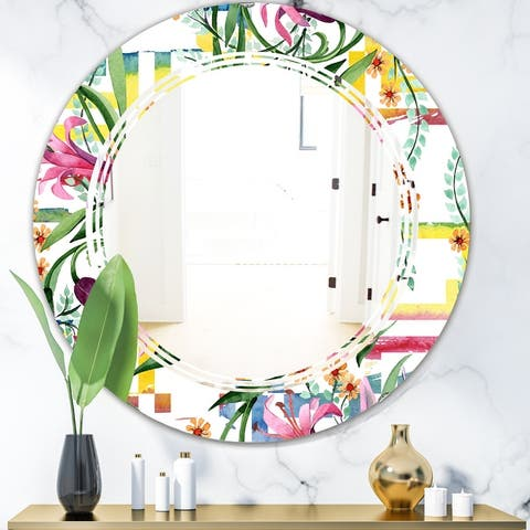 Round Farmhouse Mirrors Shop Online At Overstock